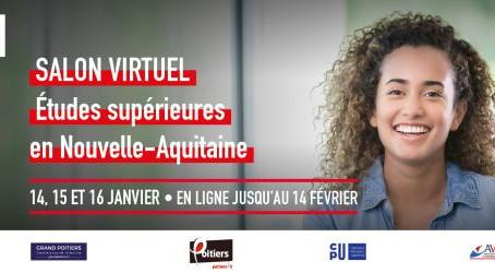 Avec Elles Bougent Poitiers au Salon de l'Etudiant virtuel de Nouvelle-Aquitaine