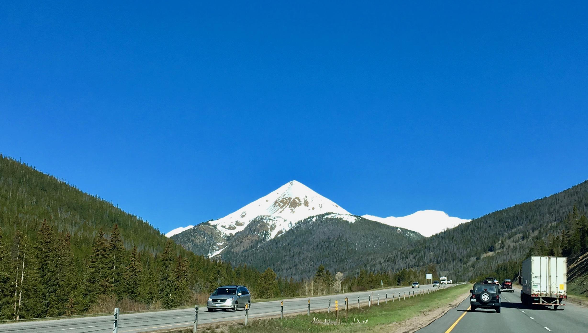 Pointy Peak, I-70