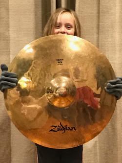 10 pound cymbal