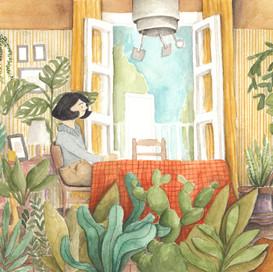 Madame Proust's secret garden