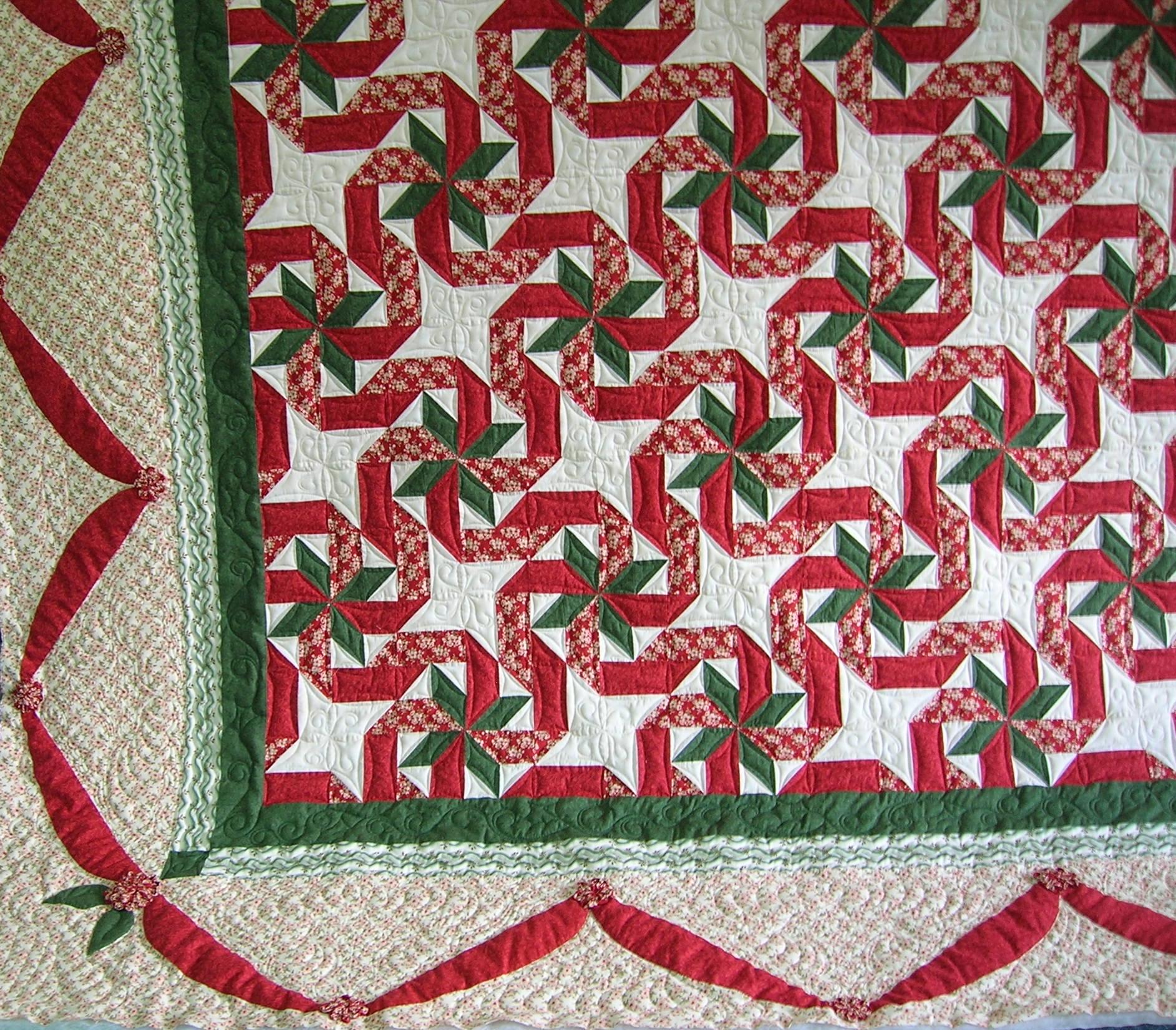 "2013 MWQG Raffle Quilt ""Gift Wrap"""