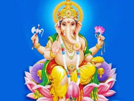 Evrenin renkleri, Ganesha ile taahhüde girmek.