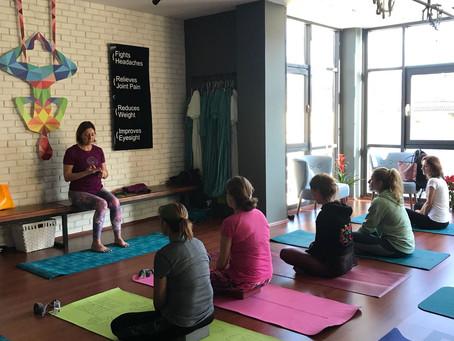 2018 Sonbahar Yoga Dersleri Programı