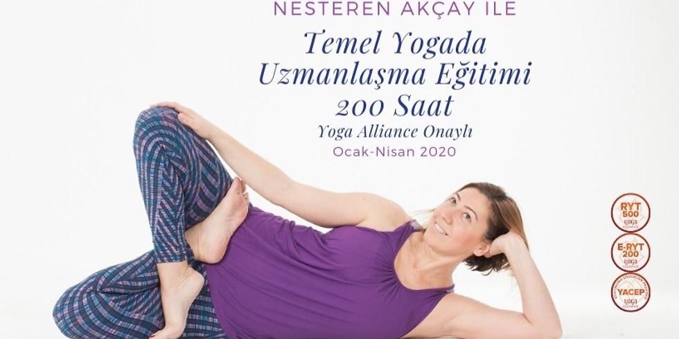 Yogada Uzmanlaşma Eğitimi - 200 Saat