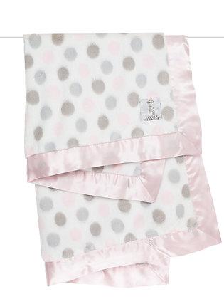 Little Giraffe Full-size Luxe Blanket Pink