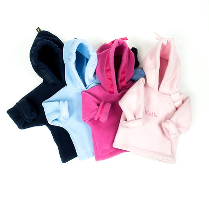 Fleece Hooded Jacket - Plain