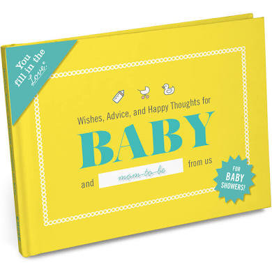 Wishes, Advice and Happy Thoughts for Baby and Mom-To-Be Book