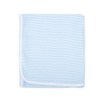Printed Stripe Receiving Blanket