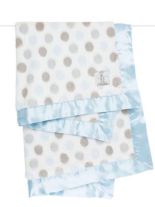 Little Giraffe Full-size Luxe Blanket Blue