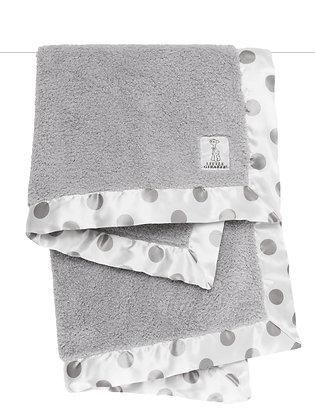 Little Giraffe Full-size Blanket Grey
