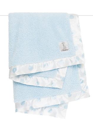 Little Giraffe Full-size Blanket Blue