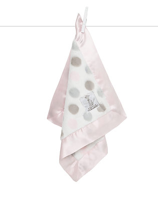 Little Giraffe Luxe Blankie Light Pink