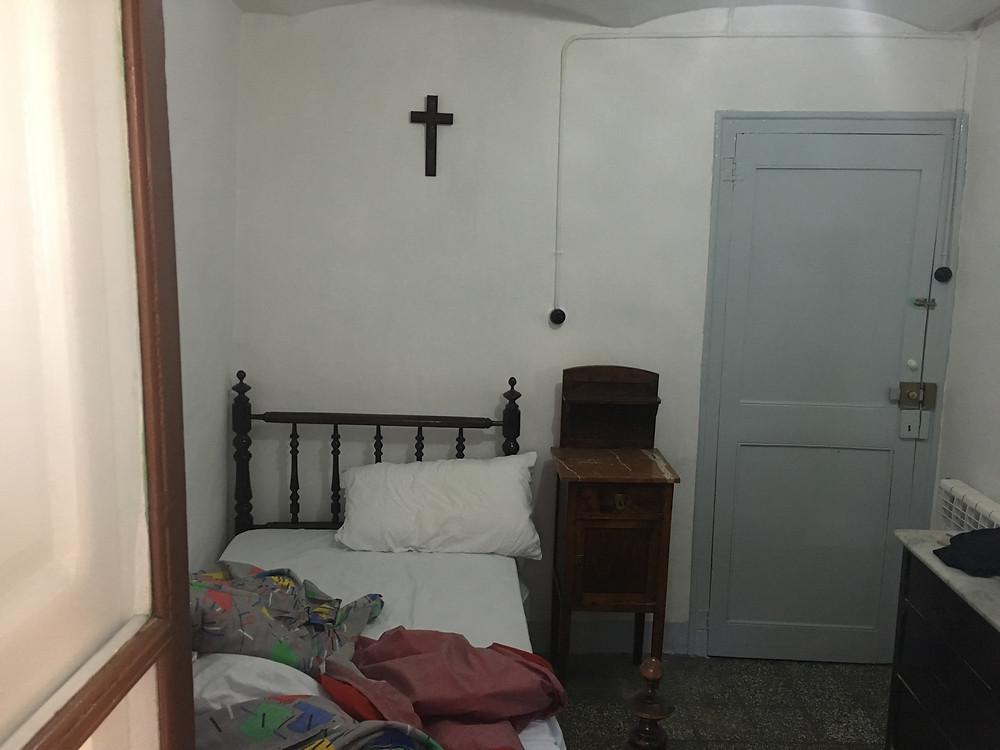 habitación donde dormí