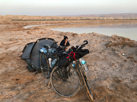 Nos adentramos en el desierto