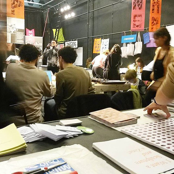 Today I'm at Zine Camp _worm_rotterdam m