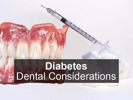 Diabetes - Dental Considerations