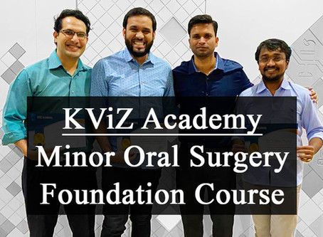 Minor Oral Surgery - Foundation Course