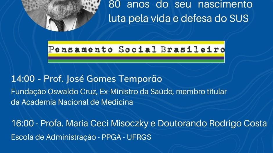 Viva o SUS!!!