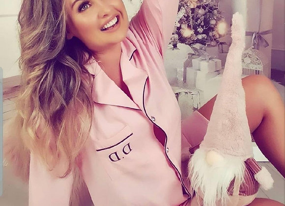 Alexa cotton night shirt- pink