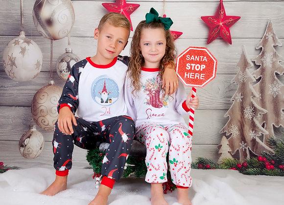 Family Christmas Gonk Pyjamas