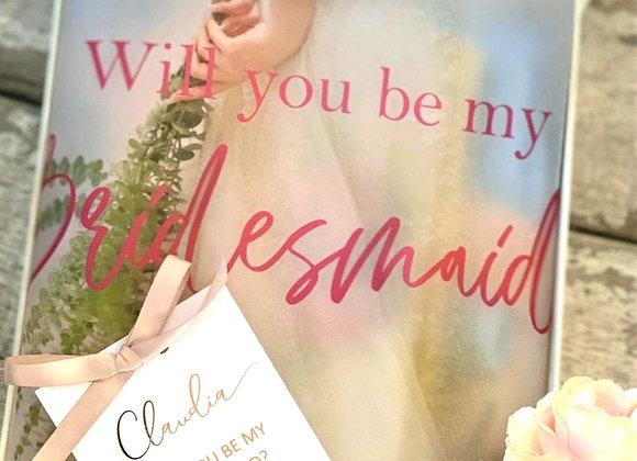 Medium Bridesmaid proposal box and card