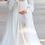 Thumbnail: Maternity dress for photoshoot/Pearl tulle Maternity wedding dress/gender reveal