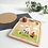 Thumbnail: Printed Breakfast Board - Boys or Girls Chocolate Egg Design
