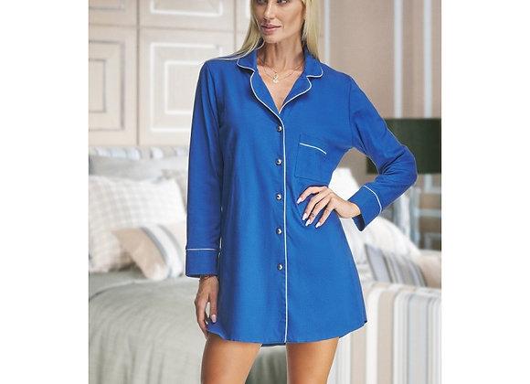 Alexa  Blue cotton nightshirt- Adult