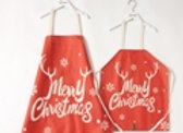 Christmas Letter Print Apron for Mommy and Me