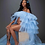 Thumbnail: Tulle maternity robe/ maternity photography dress