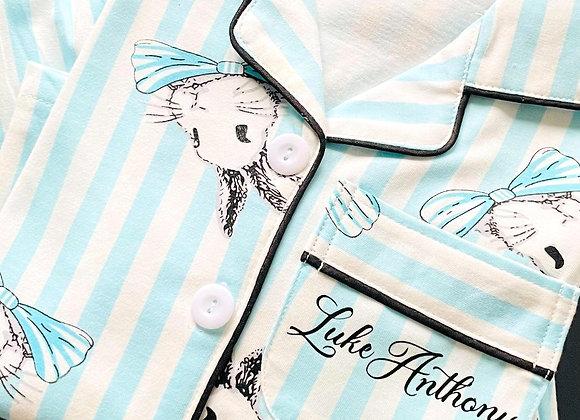 Blue Bunny personalised pyjamas
