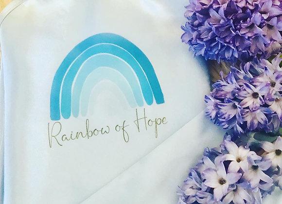 Blue rainbow of hope charity cami set- Adult