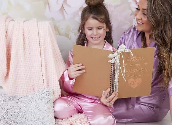 Letters to my Daughter:  A journal of letters from Mother to Daughter
