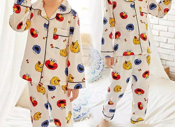 Retro Sesame St unisex pyjamas