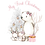 Thumbnail: Pink winter baby vest and bib combo