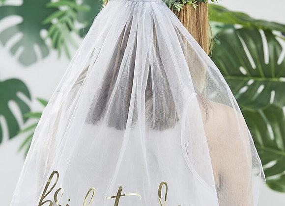 Eucalyptus Bride To Be Hen Party Veil