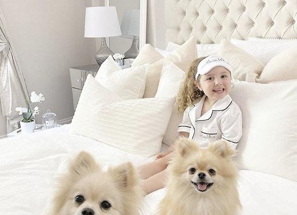 Alexa Cotton  Pjs in white-Child