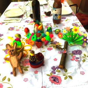 Il pranzo di Pasqua (Giorgia)