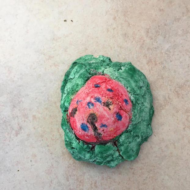Uovo di Pasqua nel prato (Eleonora)