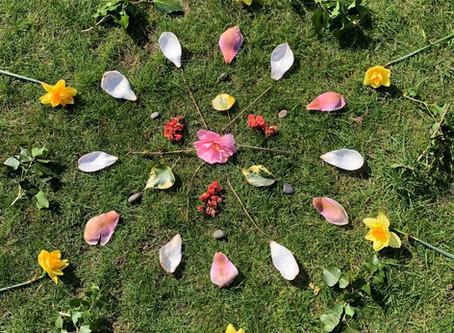 Make a Mandala in your garden