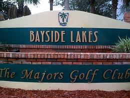 Bayside Lakes Entrance Sign