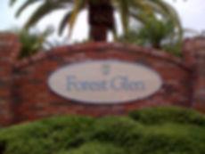 Forest Glen entrane sign