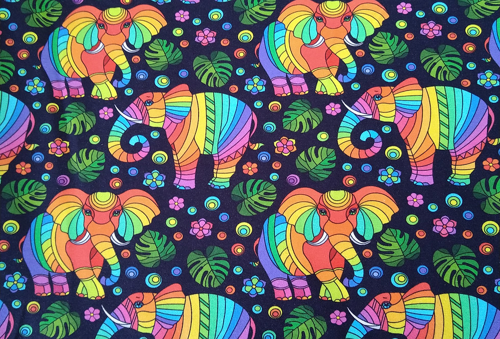 ELEPHANTS - COTTON JERSEY
