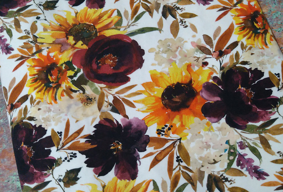 RUSTIC FLORAL -  COTTON JERSEY