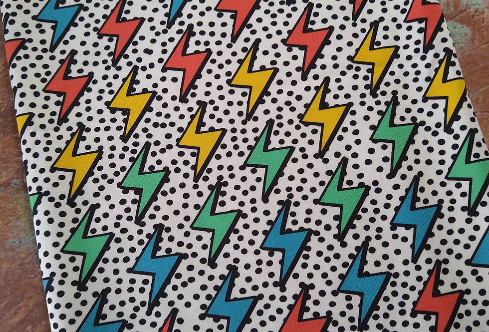 POP ART LIGHTNING  -  COTTON JERSEY