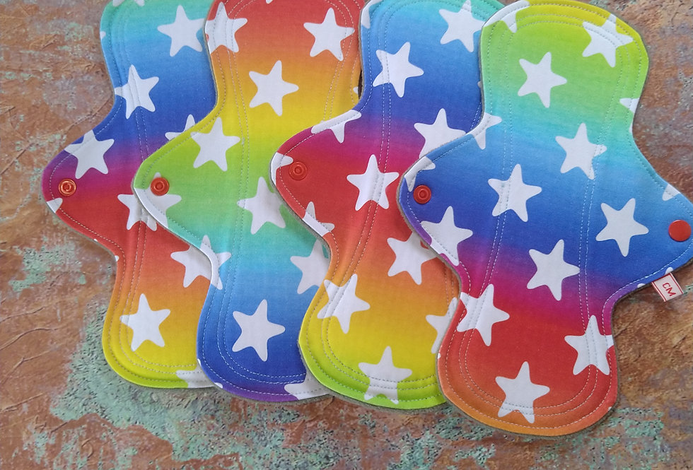 Starry Rainbows Set of 4 CSP