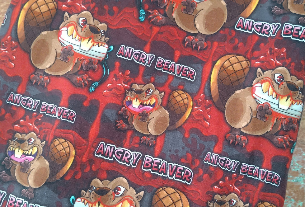 ANGRY BEAVER  -  COTTON JERSEY