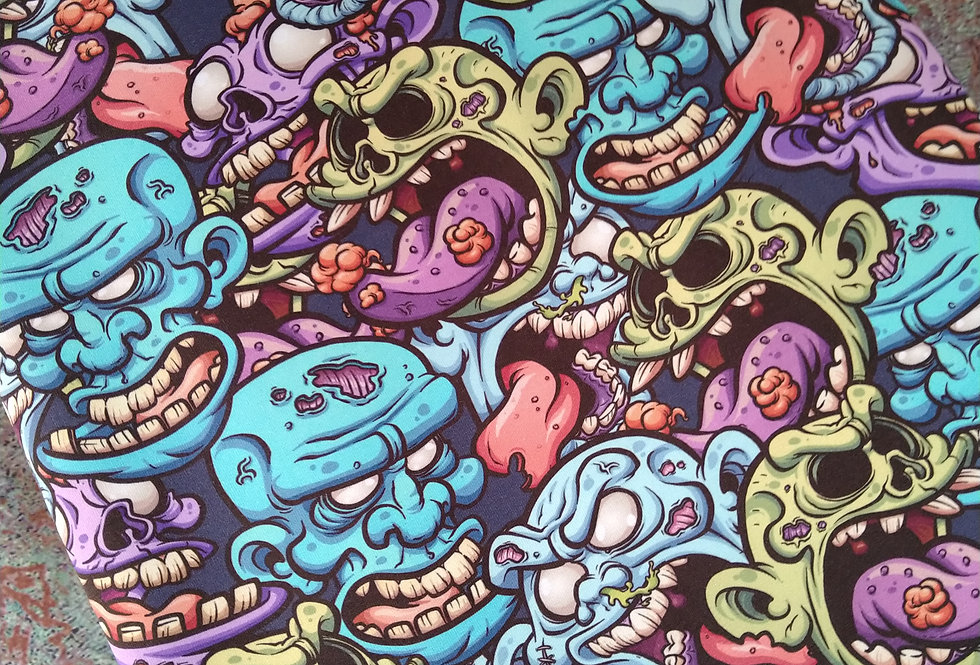 ZOMBIES  -  COTTON JERSEY