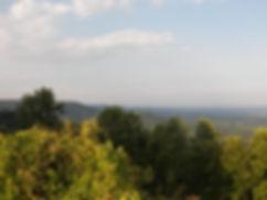 Looking southeast from Hwy 21 Overlook between Roaring Gap and Elkin