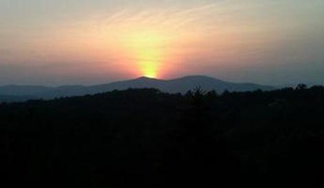 Sunset iew